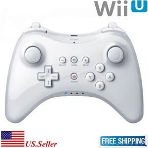 White-U-Pro-Bluetooth-Wireless-Remote-Controller-Gamepad-For-Nintendo-Wii-U