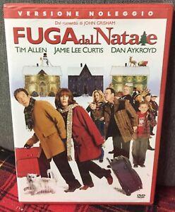 Fuga-dal-Natale-2004-DVD-RENT-NUOVO-Sigillato-in-Lingua-Italiana-J-Grisham