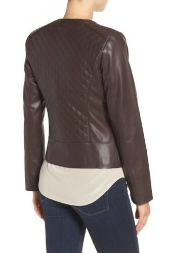 Haan Xs Cole Faux Nwt 450 Jacket Leather 5X8nqOa