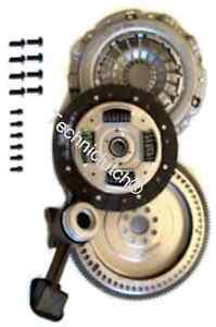 Ford-Focus-1-8-TDCI-volante-de-conversion-solida-y-Kit-de-embrague-con-pernos-y-CSC