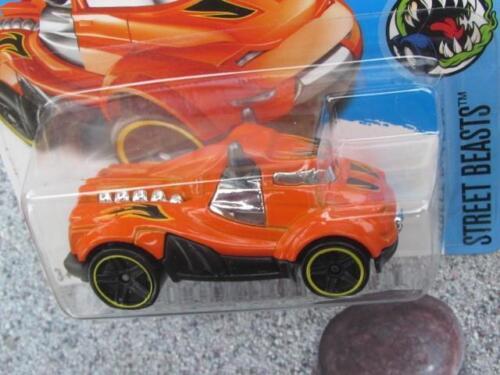 Hot Wheels 2016 #207//250 Steer Clear Orange HW Street Beasts CASE Q