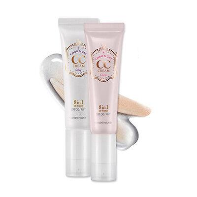 EtudeHouse CC Cream(Correct&care cream) SPF30/PA++ 35g #1 Silky [No Package]
