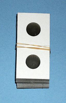 2x2 Nickel Size HECO Mylar Cardboard Coin Flips 100 High Quality Holders New
