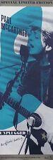Paul Mccartney 1991 Unplugged Original 2-Sided Promo Poster