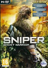 SNIPER GHOST WARRIOR GOLD EDITION for PC XP/VISTA/7 SEALED NEW