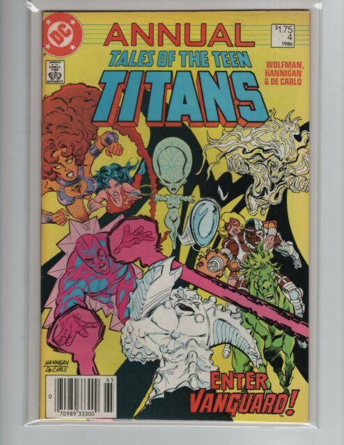 Tales of Teen Titans Annual #4 - DC Comics Copper Age 1986 FN/VF