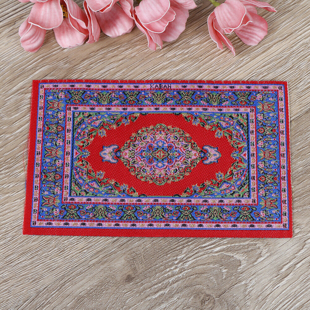 Dollhouse mini carpet mat 1:12 dollhouse miniature dollhouse accessories kiSE