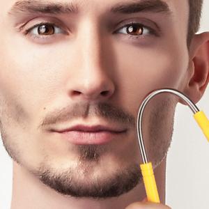 Epilator Wand Plucker Men Hair Removal Razor Trimmer Shaver Blade