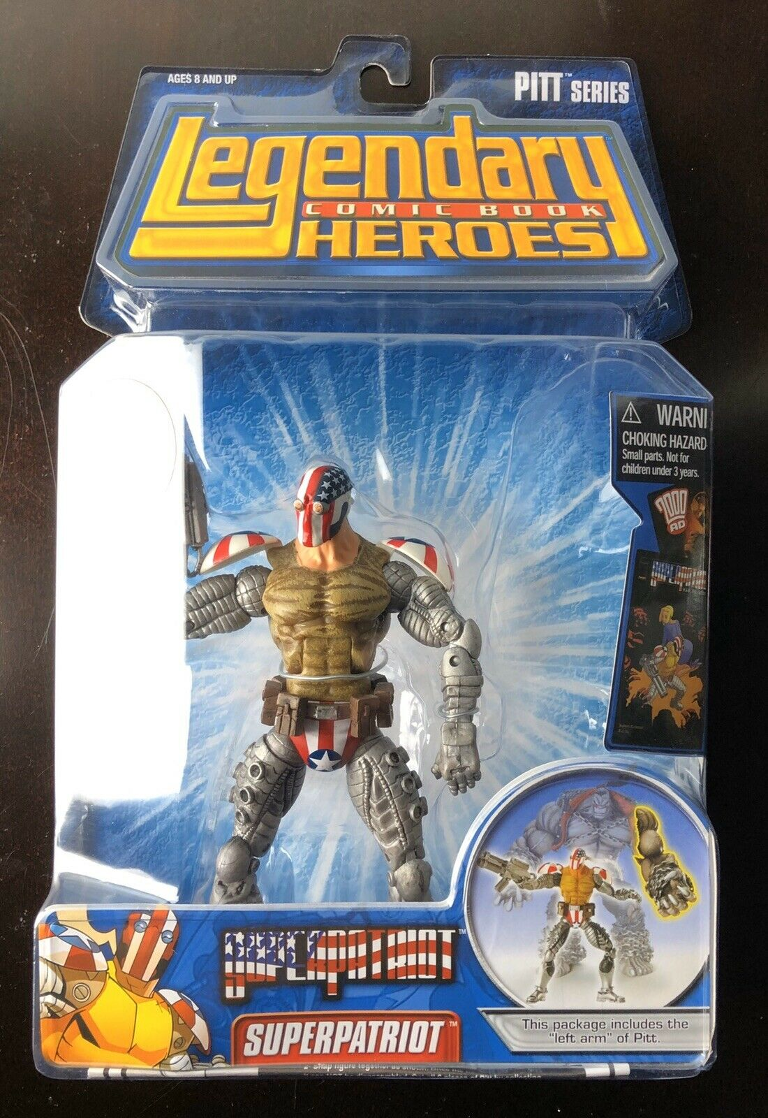 Legendary HeroesSuper Patriot - Action Figures & Statues NO BAF