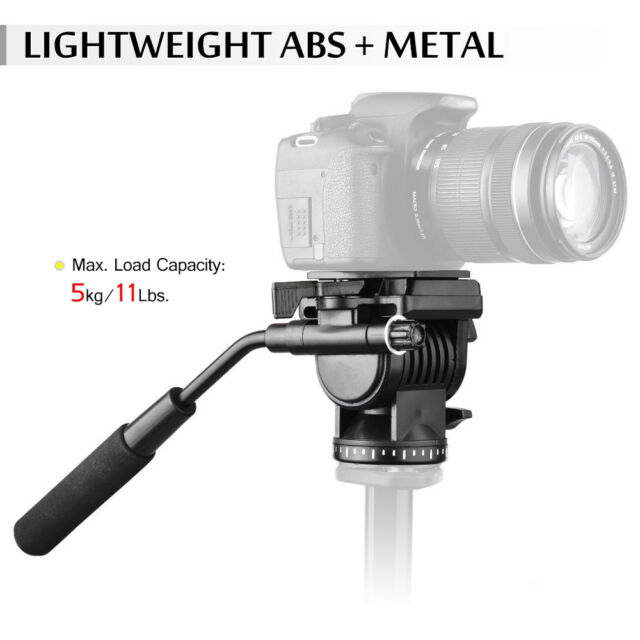 Andoer ABS 360° Fluid Drag Video Action Head Panoramic Hydraulic Damping M5N3