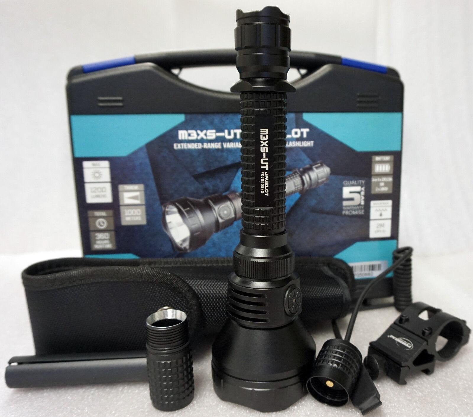 Olight m3xs-utjavelot Led Linterna Arma Kit Offset Mount y el interruptor de presión