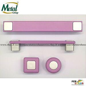 Maniglie e pomelli in plastica metal style per mobili e camerette dei bambini ebay - Maniglie plastica per mobili ...