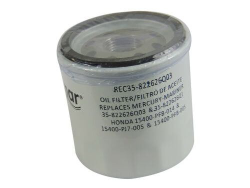 MARINER OUTBOARD 25 30 40 50 60 HP REPLACES 35-822626Q04 OIL FILTER  MERCURY