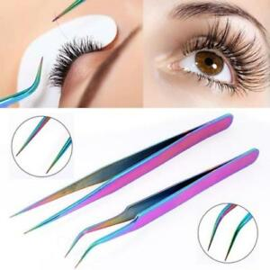 78806ee4a4d Image is loading False-Eyelashes-Extension-Applicator-Remover-Clip-Tweezer- Nipper-