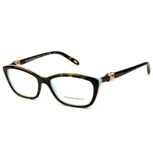a6194124882 5 Tiffany  Co. TF 2074 8216 Rectangle Havana Blue Gold Knot ...
