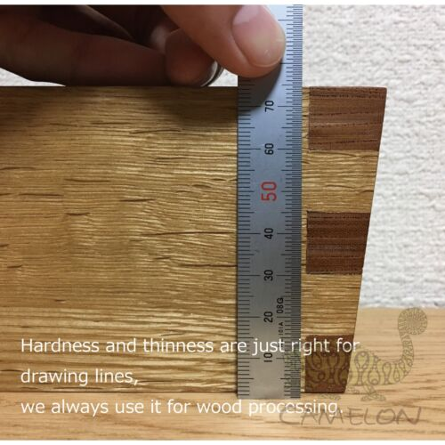 SHINWA STAINLESS STEEL STRAIGHT RULER MEASURING DOUBLE SIDE SCALE 150MM