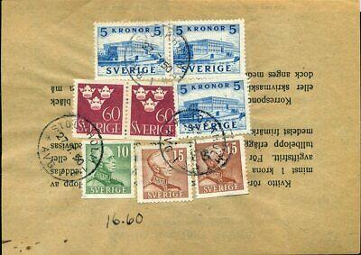 Schweden Mif Rs Auf Quittung Stockholm 1950 Online Shop Europa Geschickt 416319 Briefmarken