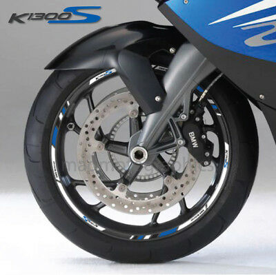 Trims Stickers Sport Wheel Stickers BMW K1300S White Silver