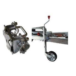 New Heavy Duty Jockey Wheel 48Mm Plant Trailer Caravan Generator Rust Resistant