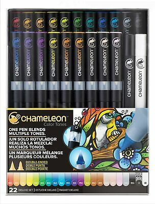Oprecht Chameleon Color Tones 22 Pen Deluxe Set Multi