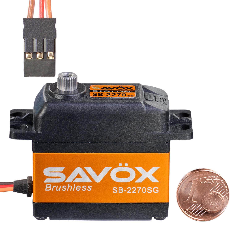 Digital Brushless HV Standard Servo sb-2270sg Savöx 80101025 810214