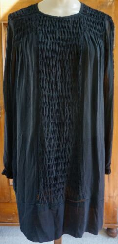 Isabel Marant...100% Silk..Smocked Dress!