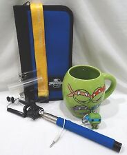 Universal Studios Teenage Mutant Ninja Turtles Mug Key Ring Selfie Stick GiftSet