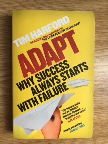 1 of 1 - Adapt: Why Success Always Starts with Failure by Tim Harford (Paperback, 2012)