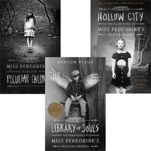 Miss-Peregrines-Home-for-Peculiar-Children-3-Book-Set-Collection-Ransom-Riggs