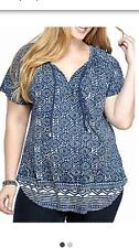 Lucky Brand Top Size Women's 1X Plus New with Tags
