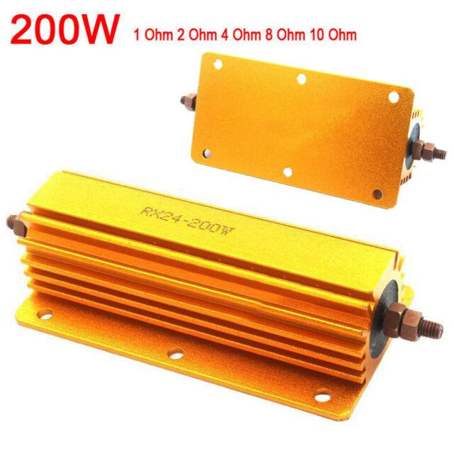 200W Power Metal Resistor 4 Tube Electronic Amplifier Amp Test Dummy Load Kit