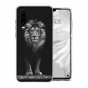 Porte-passeport etui housse Lions CHAT BLEU-S1721