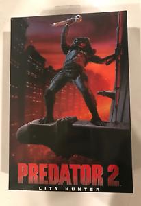 NECA Prödator 2 Movie Ultimate City Hunter 7 65533; livräddare 6553333; action Figur HTF
