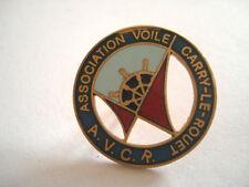PINS RARE GOUVERNAIL ASSOCIATION ECOLE VOILE CARRY LE ROUET AVCR  FRANCE BOAT