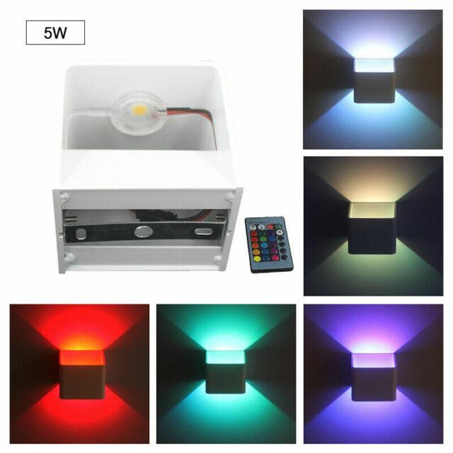 LED Wand Lampe Wohn Schlaf Zimmer Strahler Beleuchtung Spot schwenkbar Leuchte