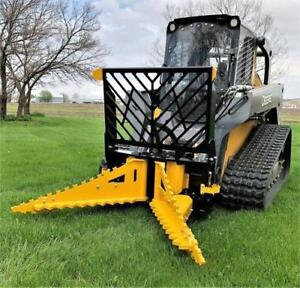 Tree Puller For Skid Steer