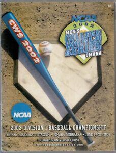 2002-College-World-Series-CWS-Program-Texas-Longhorns-Champs