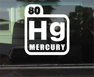 Mercury periodic table symbol vinyl decal sticker ebay image is loading mercury periodic table symbol vinyl decal sticker urtaz Image collections