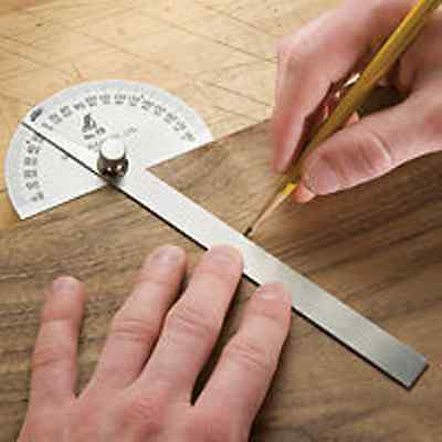 PROTRACTOR GAUGE quality Tool  stainless steel Round  head
