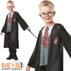 Deluxe Gryffondor Robe Kids Fancy Dress Harry Potter Livre Jour Garçons Filles Costume-afficher Le Titre D'origine