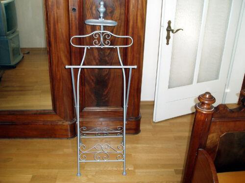 Antik Eisen Stummer Diener Kleiderständer Kleiderablage Garderobe ST-S
