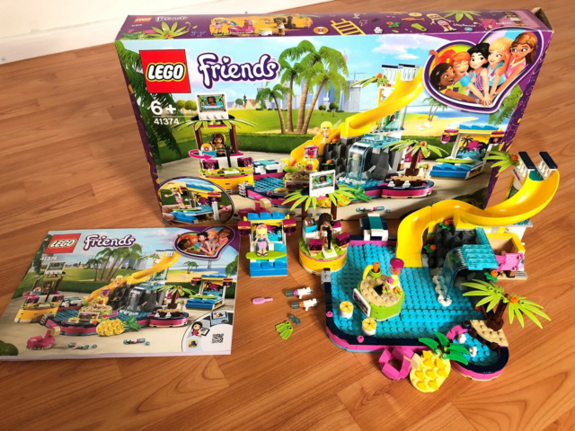 Lego Friends, Lego Friends.  Andreas Pool Party.  Æske…