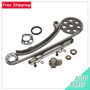 Details about Timing Chain Kit Fits for 89-97 2 4L Nissan 240SX Pick Up  KA24E w/Gears+Gasket