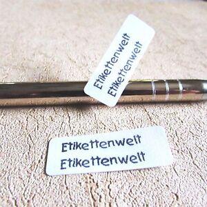 Wunschtext  1 0 0  Wäscheetiketten Namensetiketten