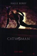 CATWOMAN Movie POSTER 27x40 Halle Berry Sharon Stone Benjamin Bratt Lambert