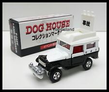 TOMICA 1995 DOG HOUSE TOYOTA LAND CRUISER FJ40V PATROL CAR 1/60 TOMY DIECAST CAR