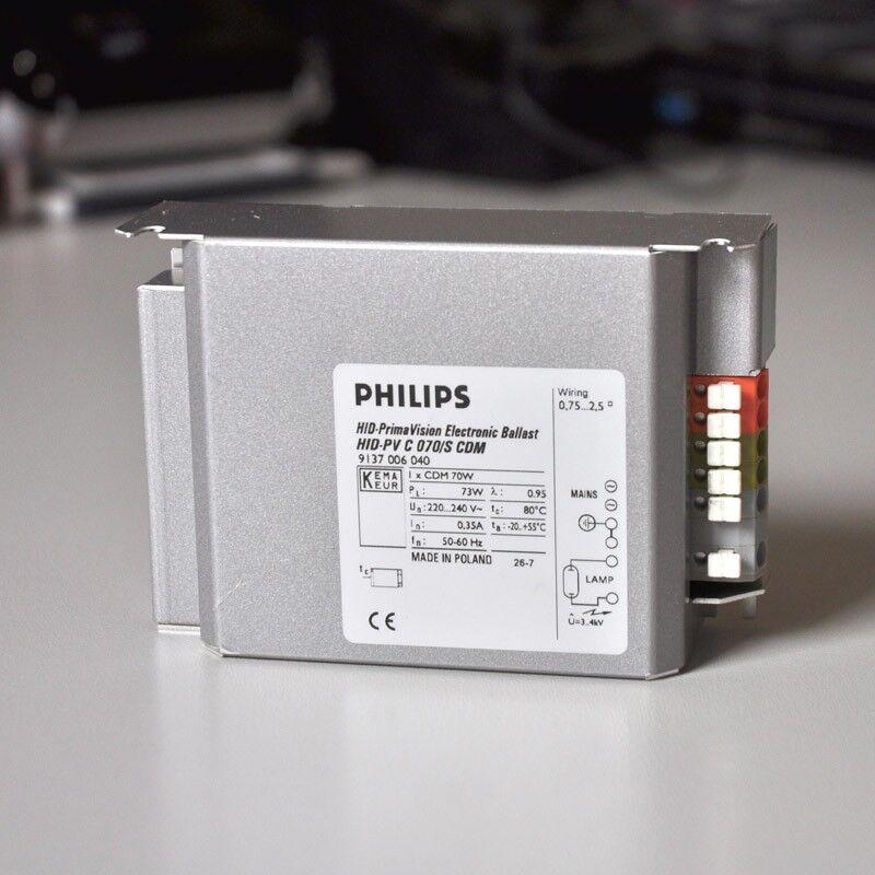 12x Philips Vorschaltgerät EVG GEBRAUCHT 70W Stahl für CDM HQI LAMPEN    Deutschland Online Shop