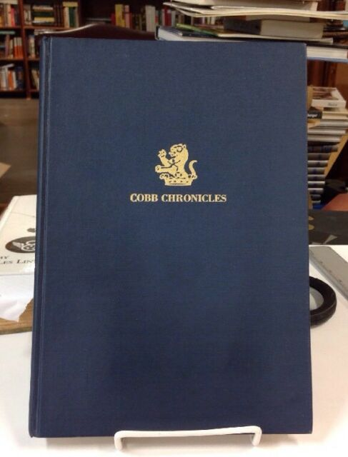 Cobb Chronicles : An Overview of the Clan by John E. Cobb 1985 1st ED Hardcover