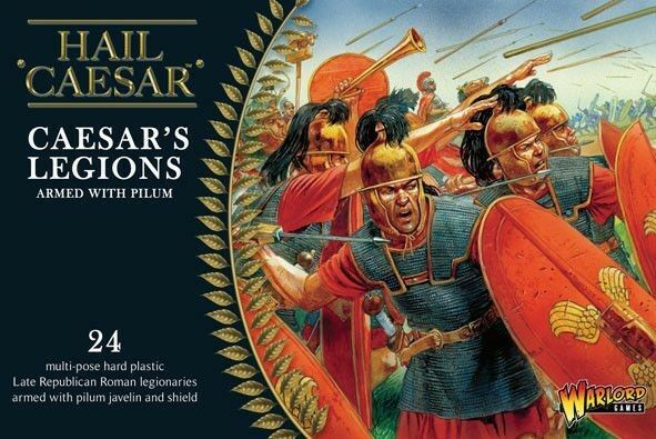 Warlord Games Caesarian Romans with Pilum 28mm Hail Caesar Tabletop Rom