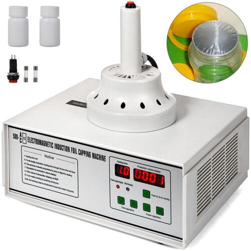 Induction Bottle Cap Sealing Machine 500C 10~30pcs//min Aluminum Foil 500W Manual